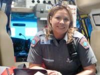 Technicienne ambulancière paramédic